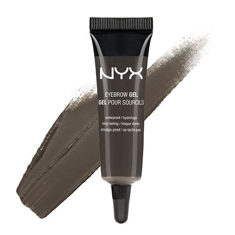 Nyx Gel Eyebrow nyx eyebrow gel black ebg05 nyx eyebrow gel