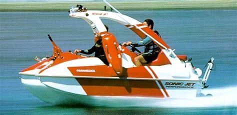 jet ski hits bass boat sonic jet