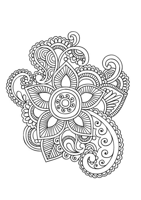 coloring pages mandala flower flower page printable coloring sheets mandala
