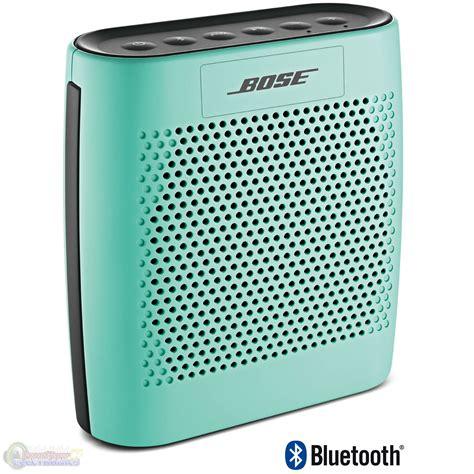 Bose Soundlink Speaker Portable Mint bose soundlink color bluetooth wireless speaker mint new