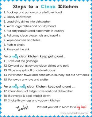 9 steps to spring cleaning the living room saving cent by cent printable kitchen cleaning checklist for kids teaching