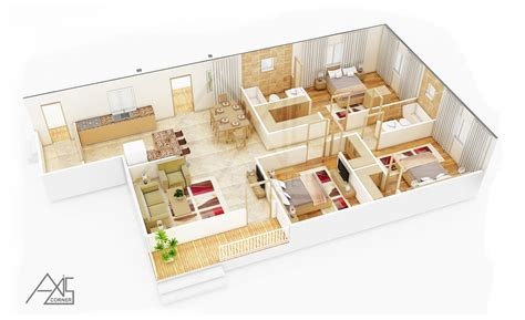3d floorplanner 3d architectural floor plans rendering portfolio 3d