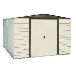Home Depot Arrow Shed by Arrow Dallas 8 Ft X 6 Ft Vinyl Coated Steel Storage Shed