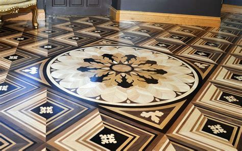 Solid Wood Floor   Medallions, Bespoke Wood Flooring