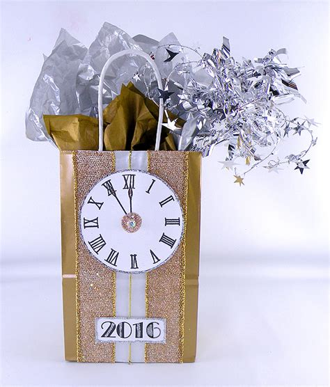 new year gift bags happy new year glittery gift designs tepper