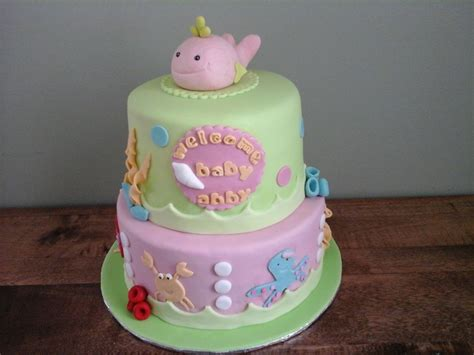 Sea Baby Shower by The Sea Baby Shower Cake Cakecentral