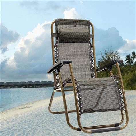 Reclining Lounger Outdoor by Outdoor Folding Sun Garden Lounger Recliner Relax Armrest