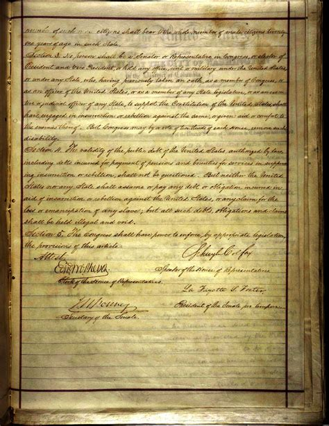 What Does Section 2 Of The 14th Amendment by The 14th Amendment Domain Clip Photos And Images