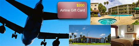 Ramada Gift Card - sept 2016 win a 200 airline gift card and a 2 night stay at ramada inn in carlsbad