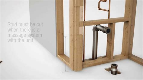 Shower And Bath Combo allia 1 piece installation guide video youtube
