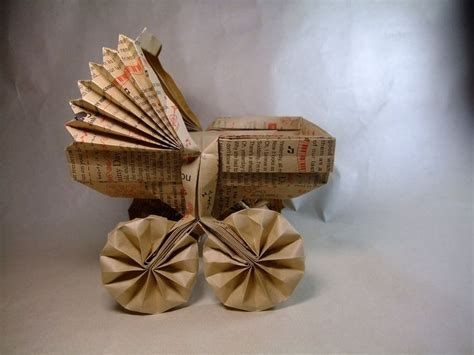 Origami Baby Carriage - 35 best images about origami beb 234 on pink