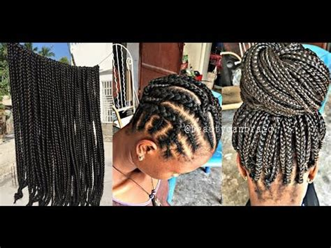 where do i buy prebraided seneglese twists in chicago 108 pre braided box braids youtube