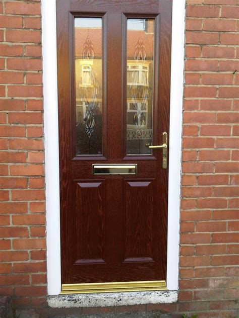 brown doors upvc andrew bruce windows glass glazing darlington