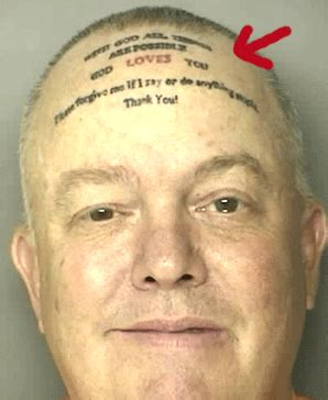 friggin forehead tattoo fails the friggin loon