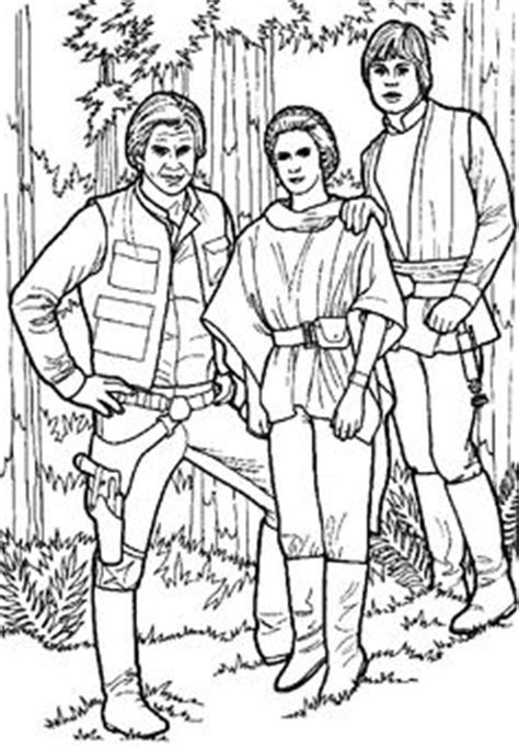 star wars princess leia coloring pages | Coloriage luke