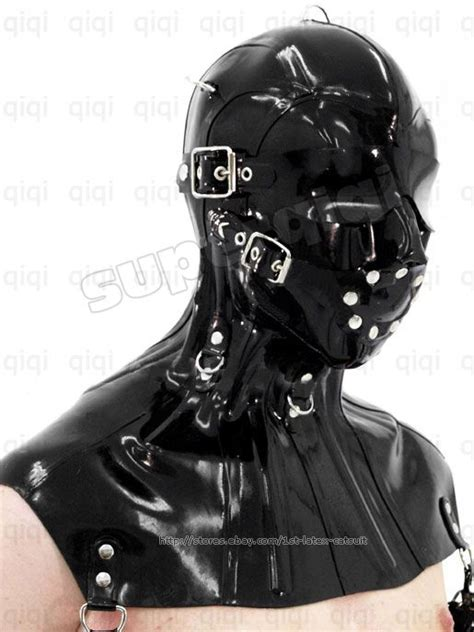 tutorial gummi latex 53 best images about hoods gags masks blindfolds on