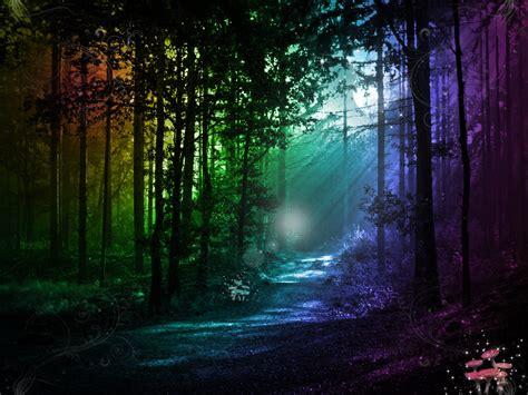 Blue Moon 7 03 Ct magical forest by darkangelxvegeta on deviantart