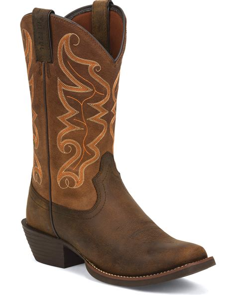 justin s kaven stede cowboy boots square toe
