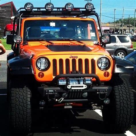 Orange Lifted Jeep Wrangler Waaannnttt Cars