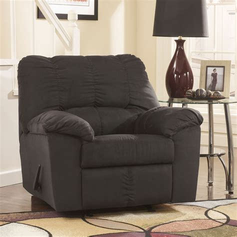 Black Fabric Recliner Chair by The Recliner Chair Shop Swivel Rocker Recliner