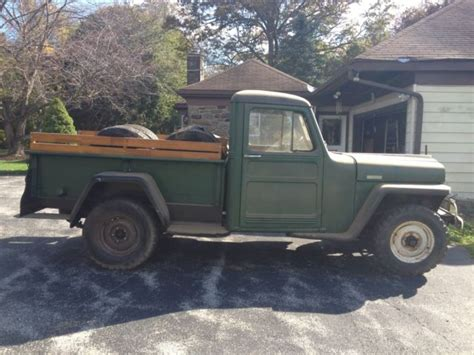 1949 willys jeep 1949 willys jeep truck for sale in lansdowne
