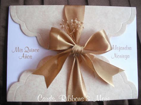 Handmade Quinceanera Invitations - quinceanera invitation sweet sixteen invitation sweet 16