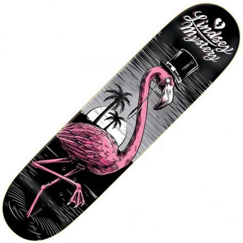Skateboard Deck Mystery mystery skateboards mystery pink flamingo deck 7 875 quot skateboard decks from