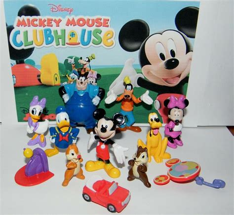 Mickey Mouse Clubhouse by Disney Mickey Mouse Clubhouse Figure Set Of 12 Donald