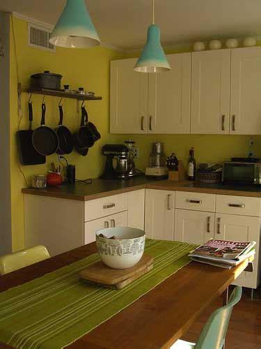 fotos de cocinas pequenas  bonitas decoracion de cocinas