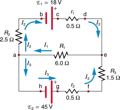 parallel circuits kirchhoff s college physics kirchhoff s voer