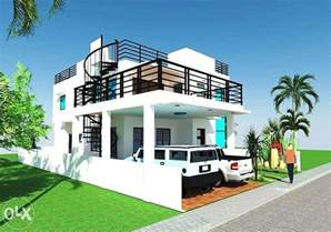 Design House 2 Storey House Design With Roof Deck Ideas Design A