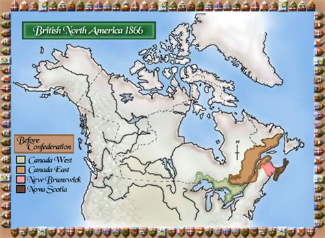 canadian map before confederation archived new brunswick provinces confederation for