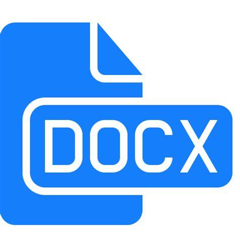 document docx file icon