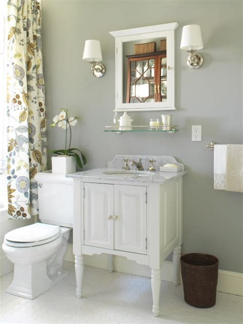 gray bathroom cottage bathroom farrow l