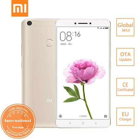 Xiaomi Mi Max 2 4 64 Gold Global New buy hk stock international edition xiaomi mi max 6 44 inch fhd miui 8 64bit qualcomm