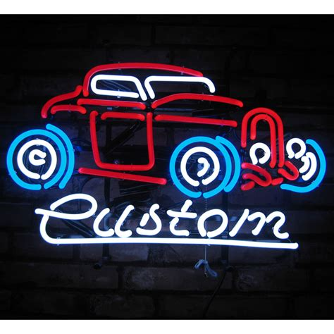 Neon Garage Signs by Neon Sign Ford Custom 32 Coupe 1932 Garage Shop Wall L