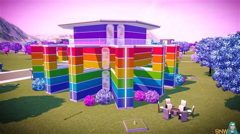 rainbow house the rainbow house snw simsnetwork com