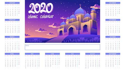 islamic calendar  golden mosque  night   vectors clipart graphics