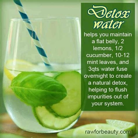 Detox Using Water by Detox Water Just Cool Things