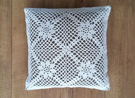 Pillow Patterns Crochet Pillow Pattern Us Terms La Nostalgie Crochet Pillow