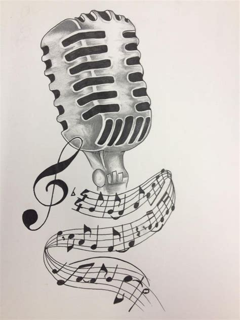 microphone tattoos designs microphone drawing search tattoos