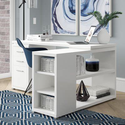 senga l shape computer desk home office you ll wayfair