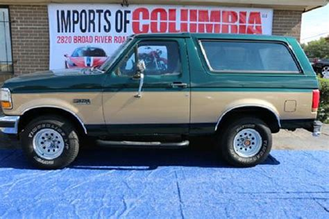 car owners manuals for sale 1992 ford bronco instrument cluster 1992 ford bronco for sale carsforsale com
