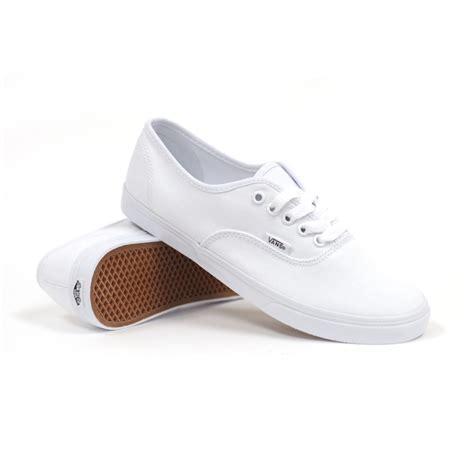 vans authentic lo pro true white true white s shoes