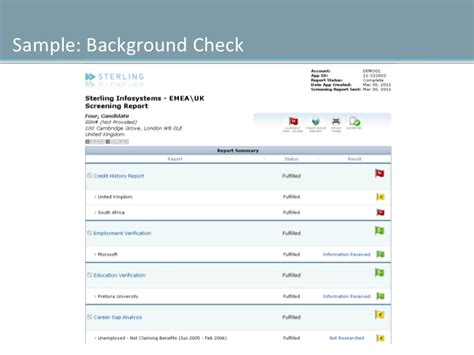 Sterling Direct Background Check Time What Is Background Screening