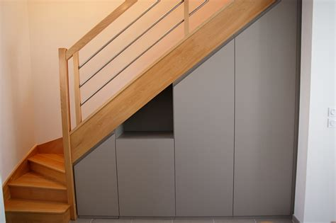 Amenagement Placard Sous Escalier 3434 by Am 233 Nagements Sur Mesure