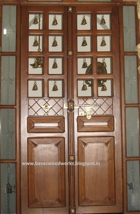 door designs for rooms bavas wood works pooja room door frame and door designs