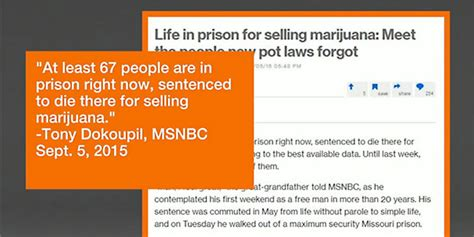 Jeff Mizanskey Criminal Record Cannabis Laws Changed So Why Are Still Serving Sentences