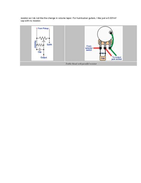 bleeder resistor en español treble bleed tip