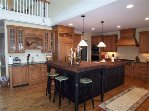 Dining Room Furniture Michigan black walnut kitchen island archives north country cabinets